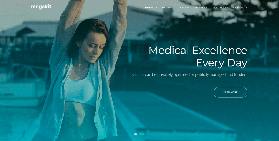 Megakit Clinic Template
