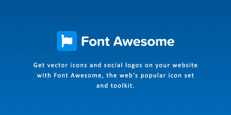 What is Font Awesome? How to use?